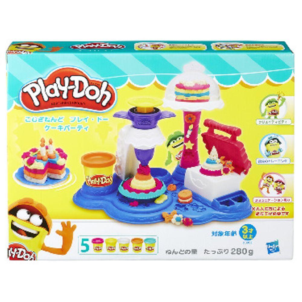 Conjunto Play Doh Festa dos Bolos B3399 Hasbro