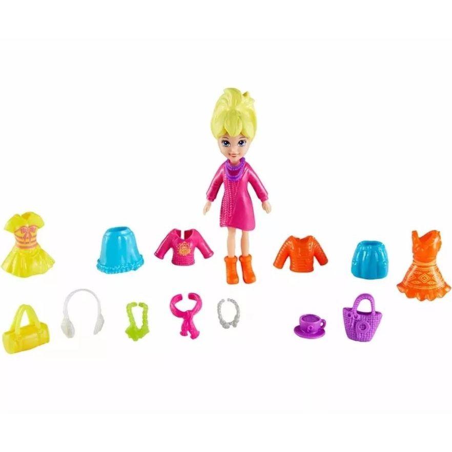 Conjunto Super Fashion Polly Pocket CFM24 Mattel