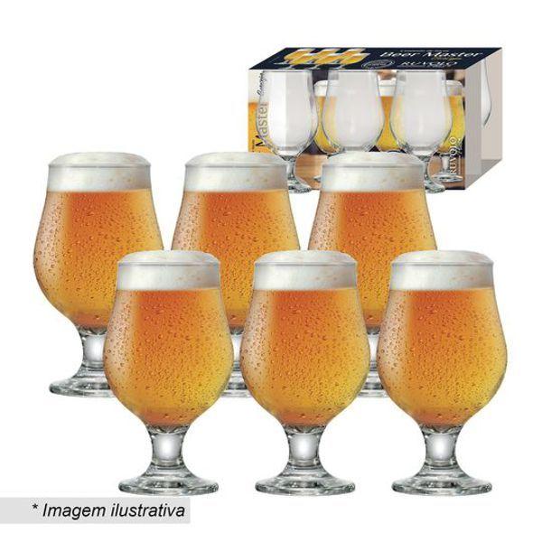 Conjunto de Taça Beer Master 380ml 6 Peças 680586 Ruvolo