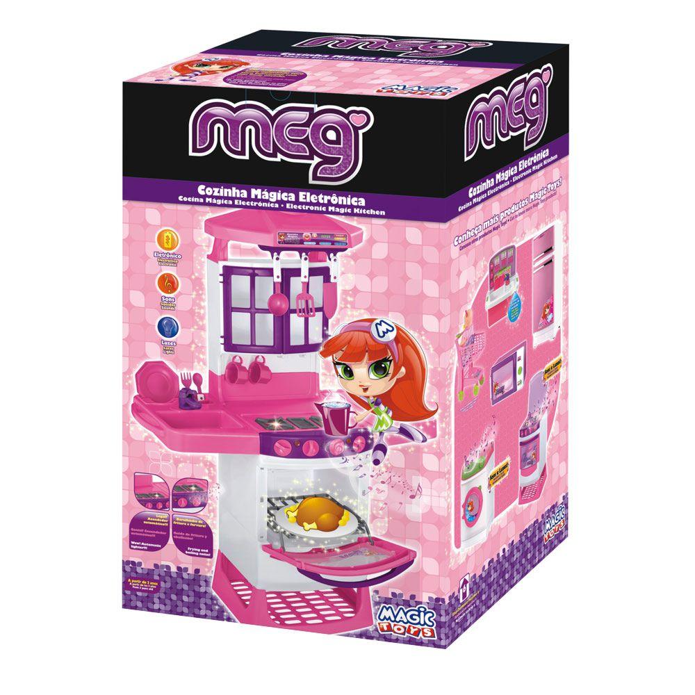 Cozinha Mágica Eletrônica com Som e Luz 8011 Magic Toys