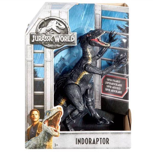 Jurassic World Dino Vilão Indoraptor FVW27 Mattel
