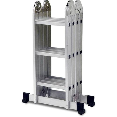 Escada Multifuncional 4x3 12 Degraus Alumínio 5131 Mor