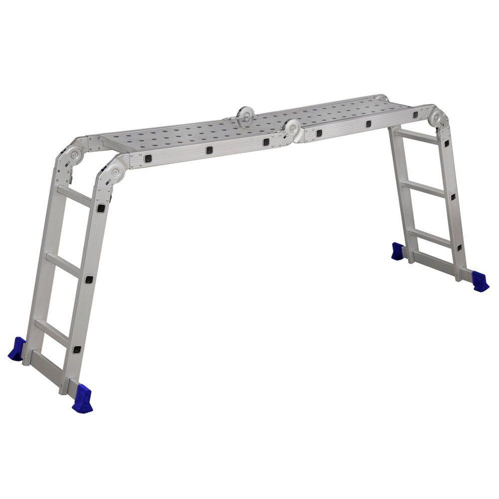 Escada Multifuncional 4x3 Com Plataforma 5133 Mor