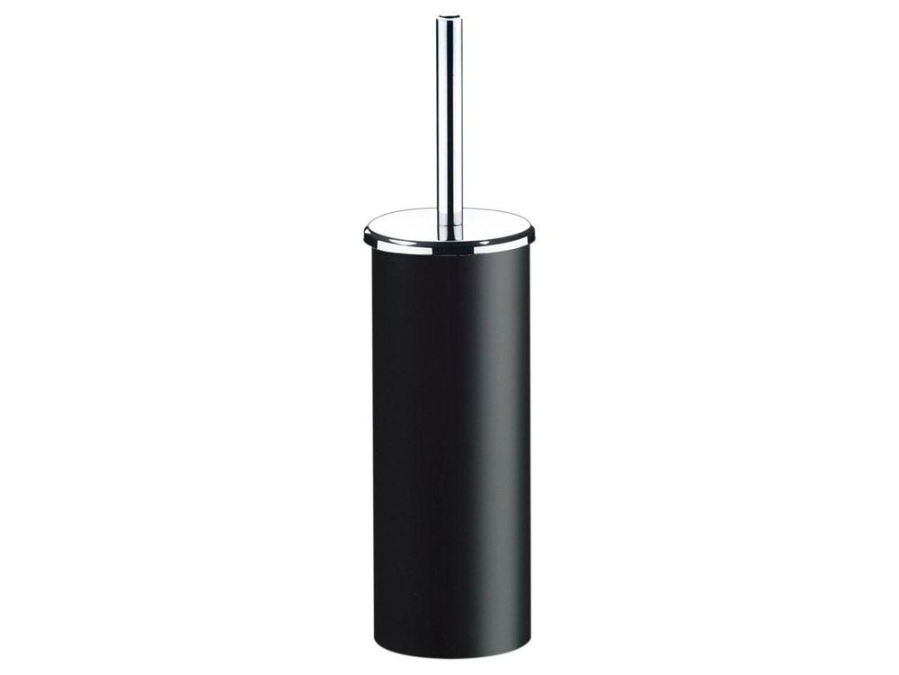 Escova para Banheiro com Suporte PS Decorline 10 x 39 Preto 3434/151 Brinox