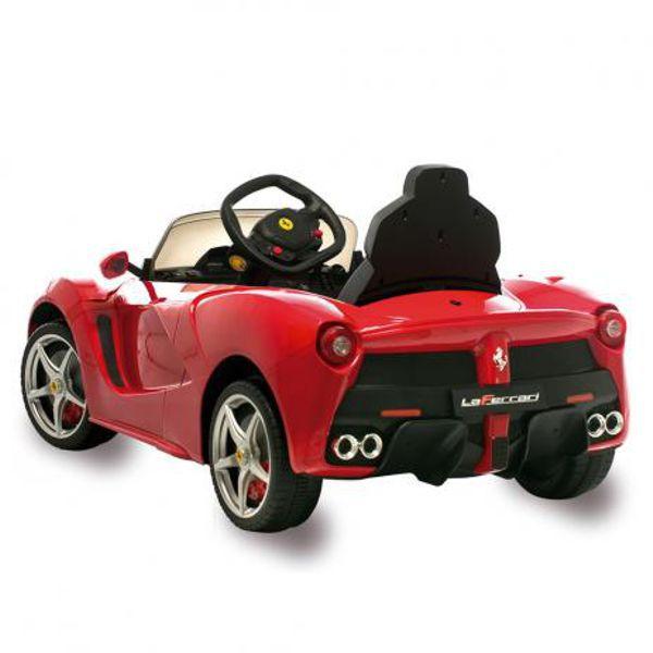 Carro Elétrico 12V La Ferrari Vermelho Com Controle Remoto 2651 Bandeirante