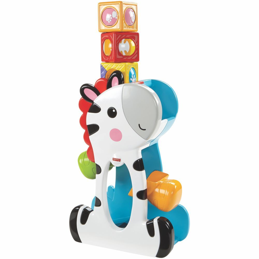 Fisher Price Zebra Blocos Surpresa CGN63 Mattel