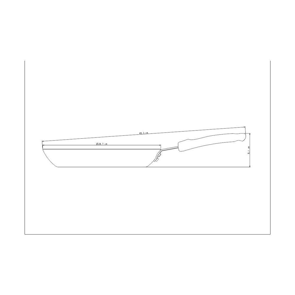 Frigideira 28cm 2L Profissional 20884/028 Tramontina