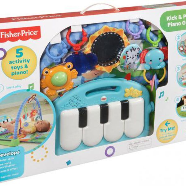 Ginásio com Pianinho Fisher Price BMH49 Mattel
