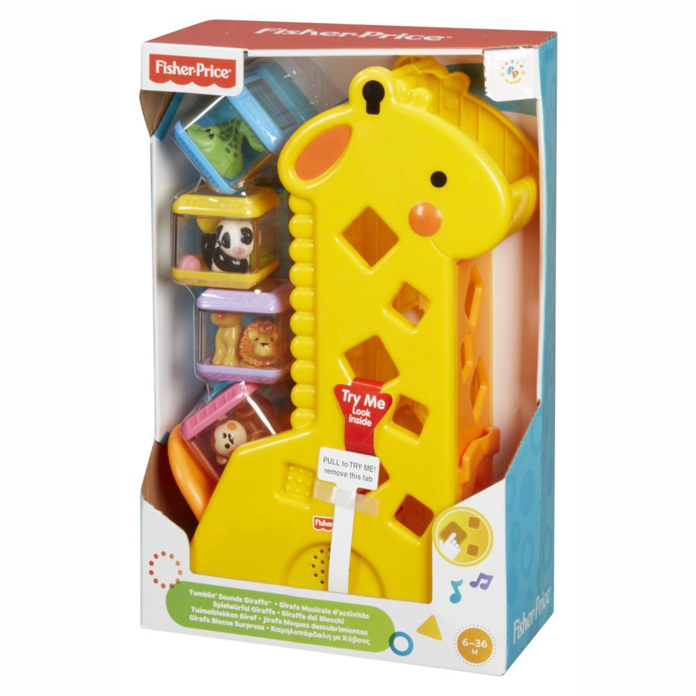 Girafa com Blocos B4253 Fisher Price