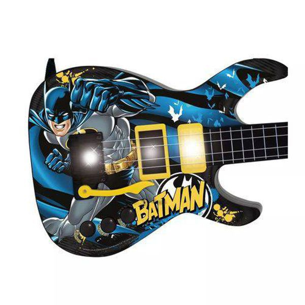 Guitarra Infantil Batman Cavaleiro 8080-5 Fun