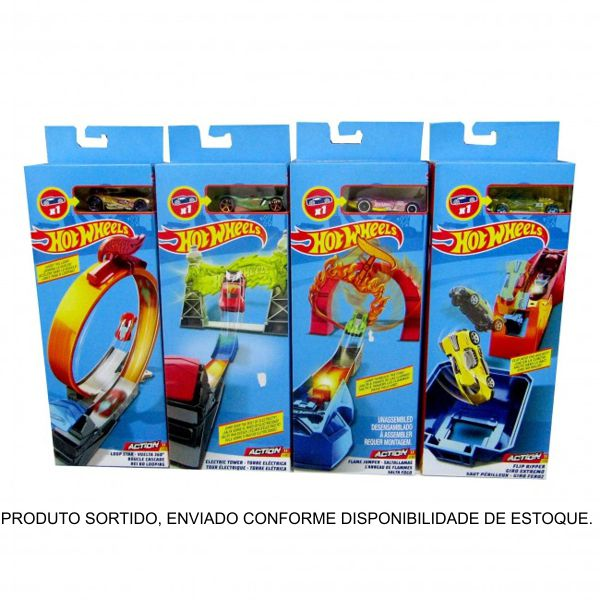 Hot Wheels Set de Acrobacias Sortido FWM85 Mattel
