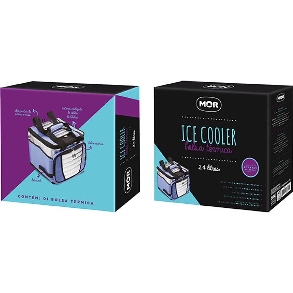 Ice Cooler com 1 Divisória 24 L 3621 Mor
