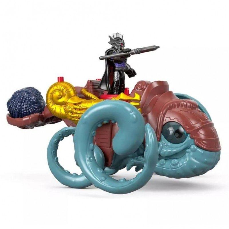 Imaginext Aquaman Criatura Marinha e Mestre do Oceano FMX67 Mattel