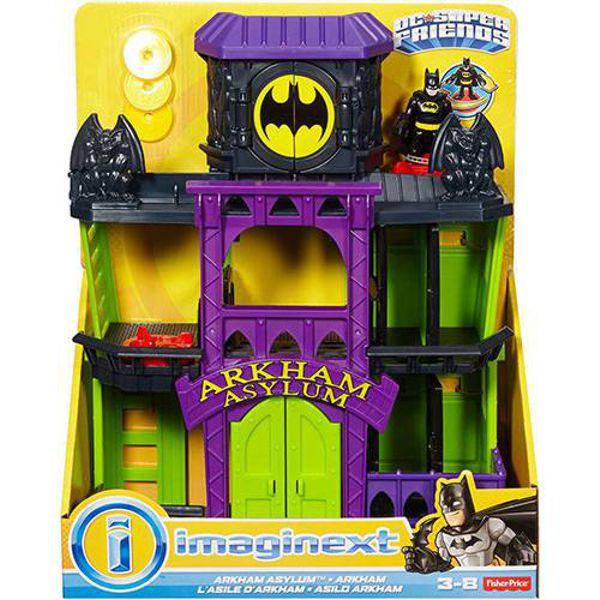 Imaginext DC Superfriends Asilo Arkham FDX24 Mattel