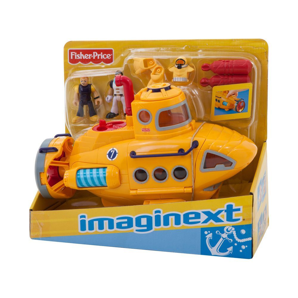 Imaginext Submarino Aventura Fisher-Price N8270 Mattel