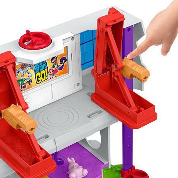 Imaginext Torre dos Jovens Titas DTM81 Mattel