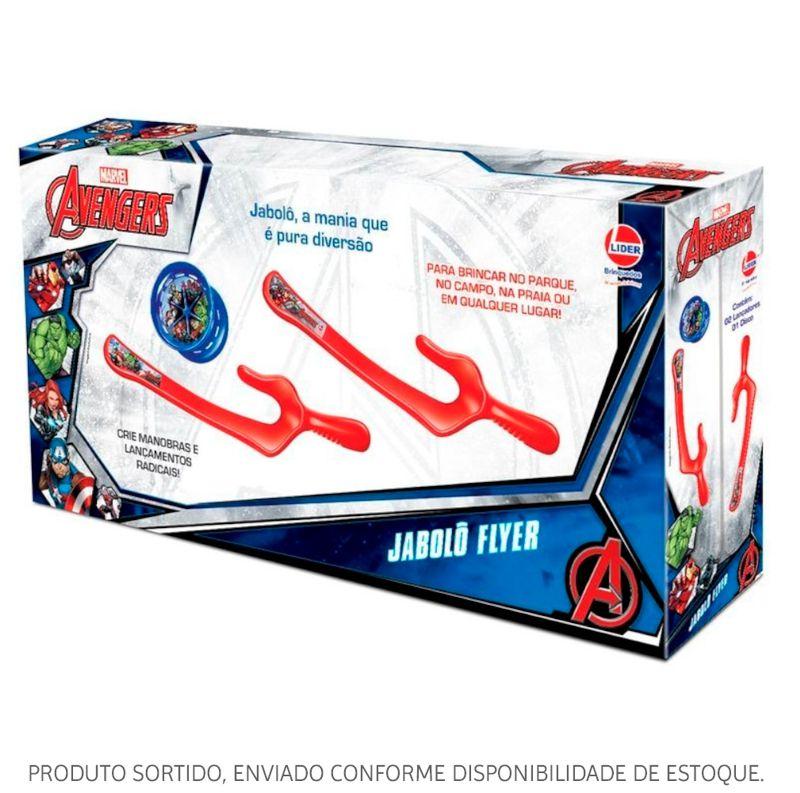Jabolô Flyer Marvel Avengers Sortido 2721 Lider