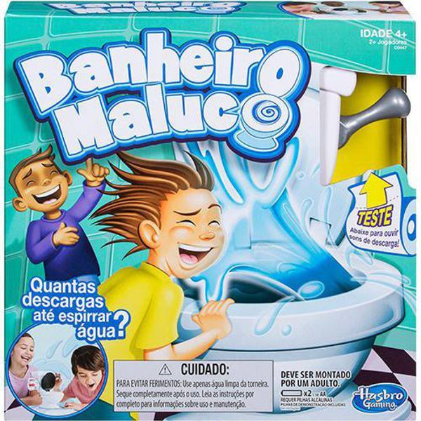 Jogo Banheiro Maluco C0447 Hasbro