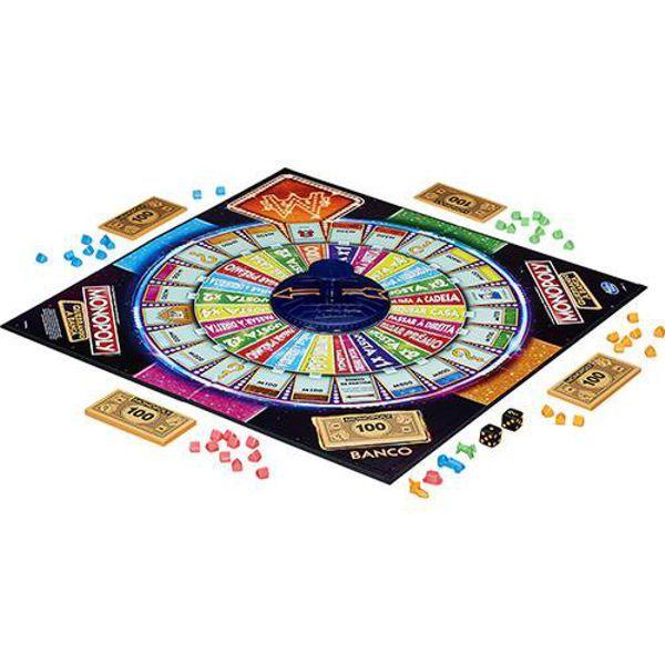 Jogo Monopoly Quebrando a Banca B7368 Hasbro