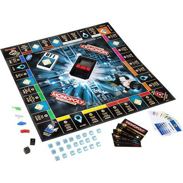 Jogo Monopoly Ultimate Banking Tabuleiro B6677 Hasbro