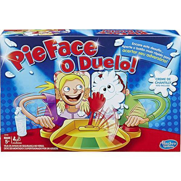 Jogo Pie Face o Duelo C0193 Hasbro