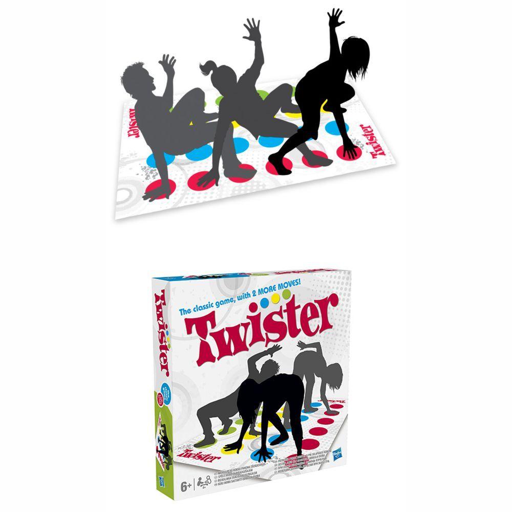 Jogo Twister Novo 98831 Hasbro