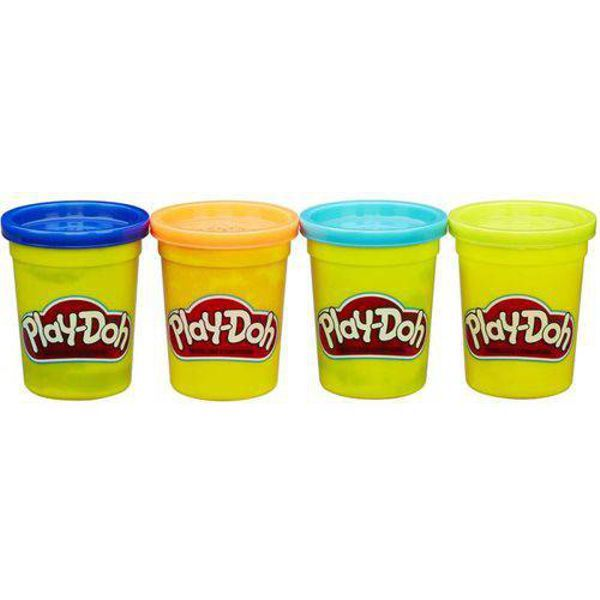 Kit 4 Potes De Massinha Play-doh B5517 Hasbro