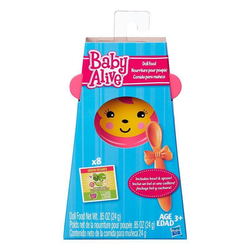 Kit Baby Alive Refil de Comidinha com 8 A8581 Hasbro