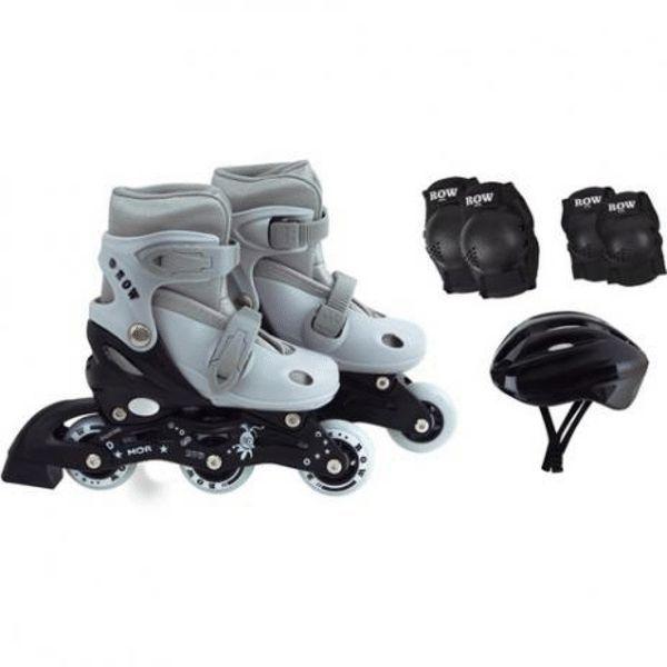 Kit Roller Cinza Tamanho P 31-34 Ref 40600102Mor