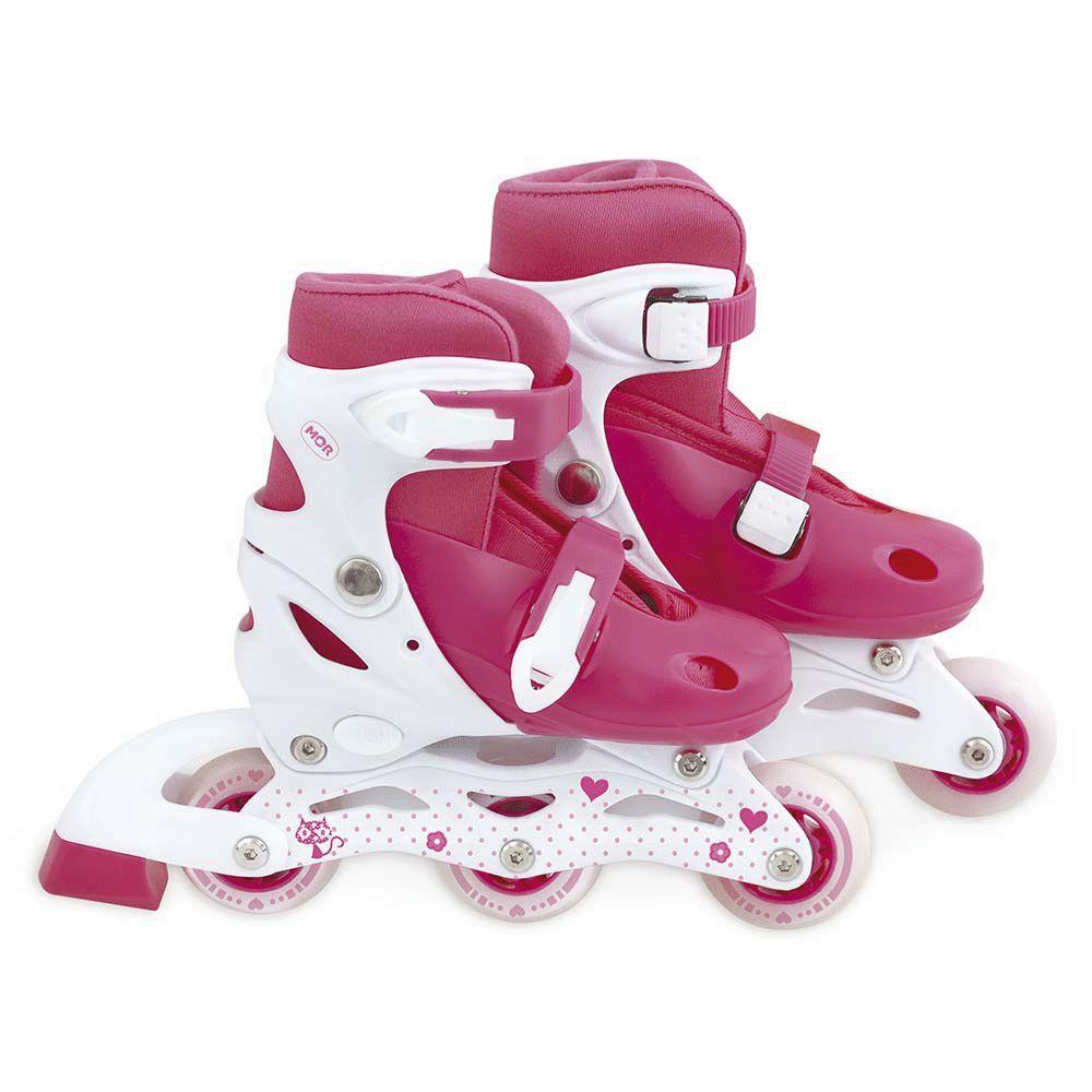 Kit Roller Rosa Tamanho P 30-33 40600101 Mor
