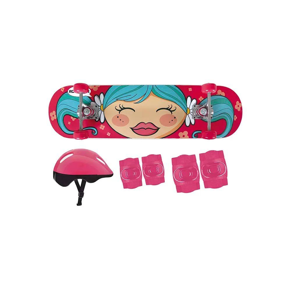 Kit Skate Infantil Menina 40600202 Mor