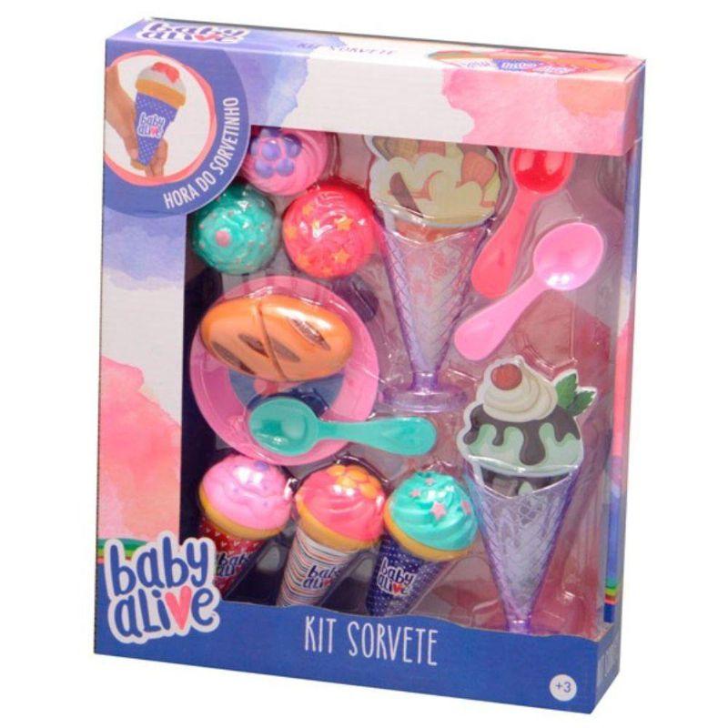 Kit Sorvete Baby Alive 35936 Toyng
