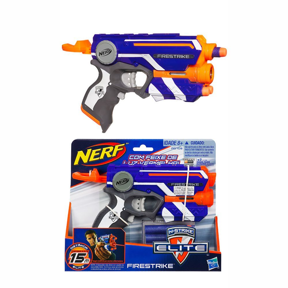 Lança Dardo Nerf El Firestrike A0709 Hasbro