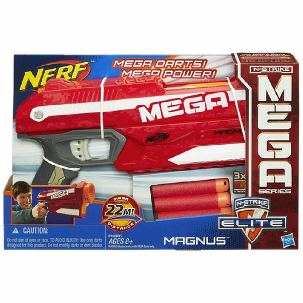 Lança Dardo Nerf Mega Magnus- A4887 Hasbro