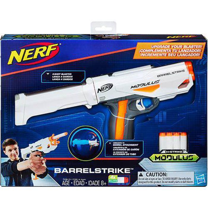 Lança Dardo Nerf Modulus Blaster - Barrelstrike C0614 Hasbro