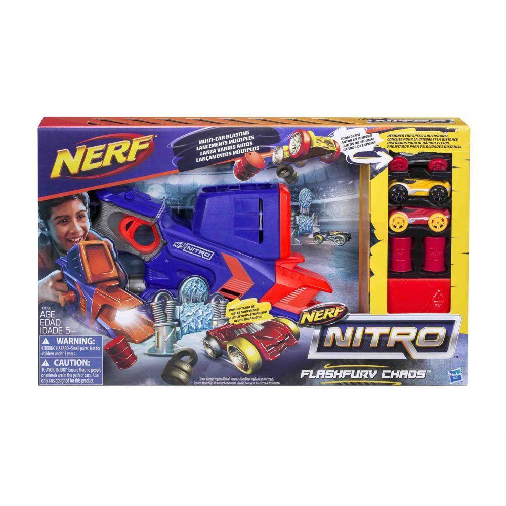 Lançador de Carro Nerf Nitro Flashfury C0788 Hasbro