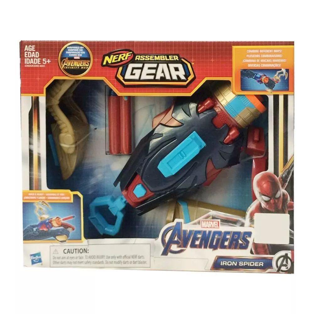 Lançador de Dardos NERF Avengers Sortido E3355 Hasbro.