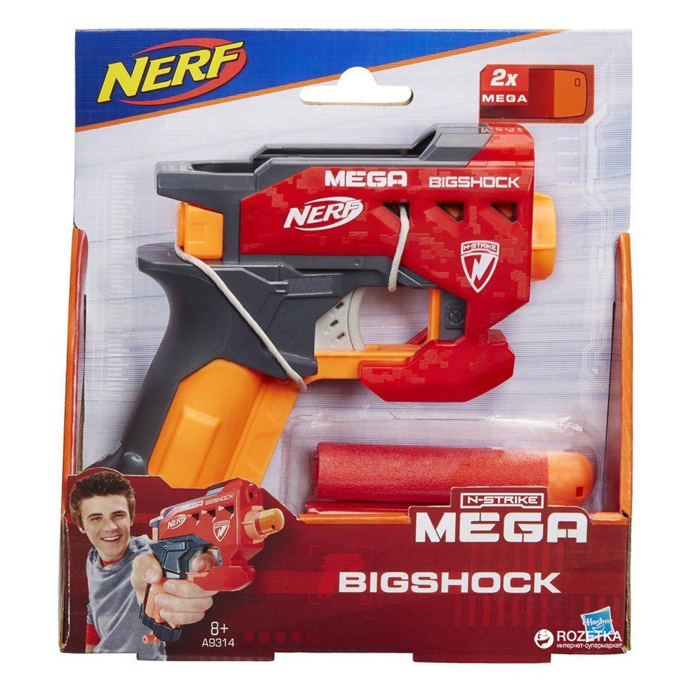 Lançador De Dardos Nerf N-Strike Mega Big Shot A9314 Hasbro