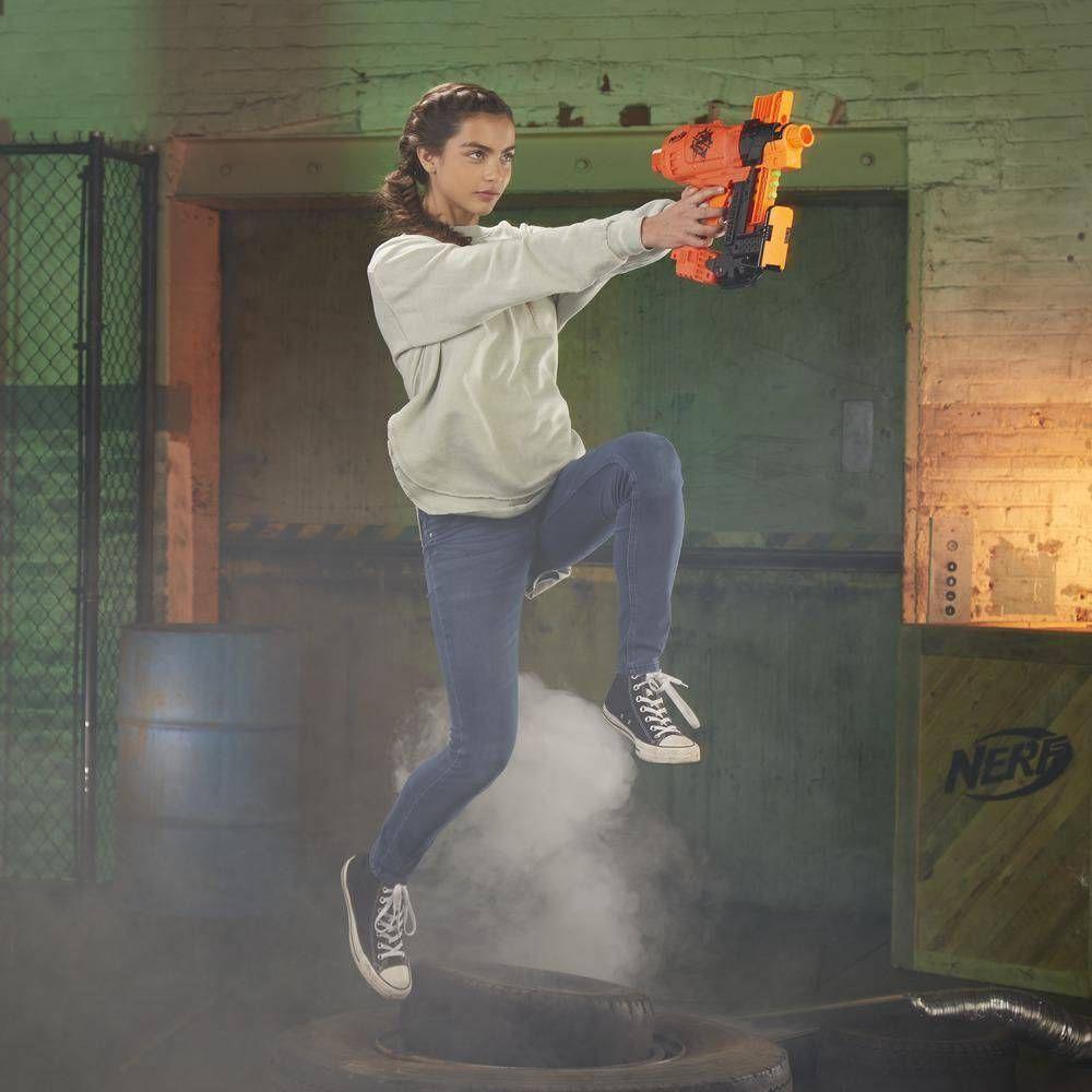 Lançador de Dardos NERF Zombie Strike Nailbiter E2672 Hasbro