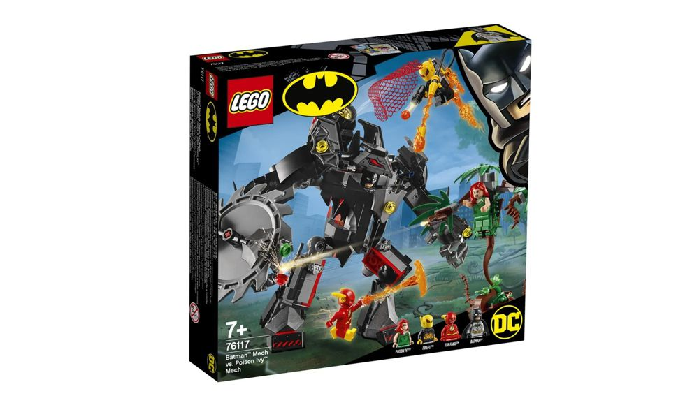 Lego Batman e Flash Contra Hera Venenosa e Vagalume 375 Peças 76117 Lego