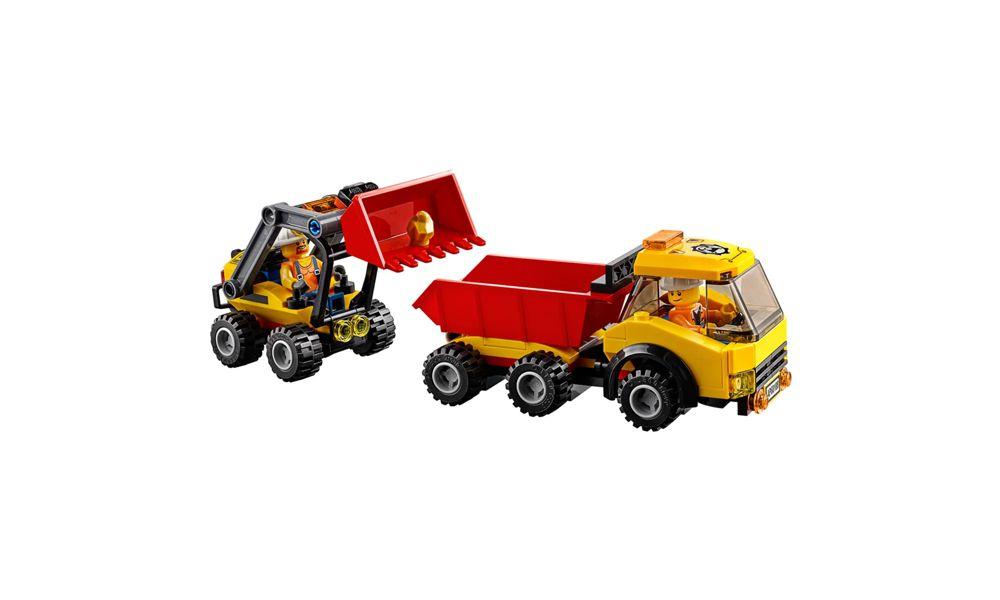 Lego City Área de Mineiros 883 Peças 60188 Lego