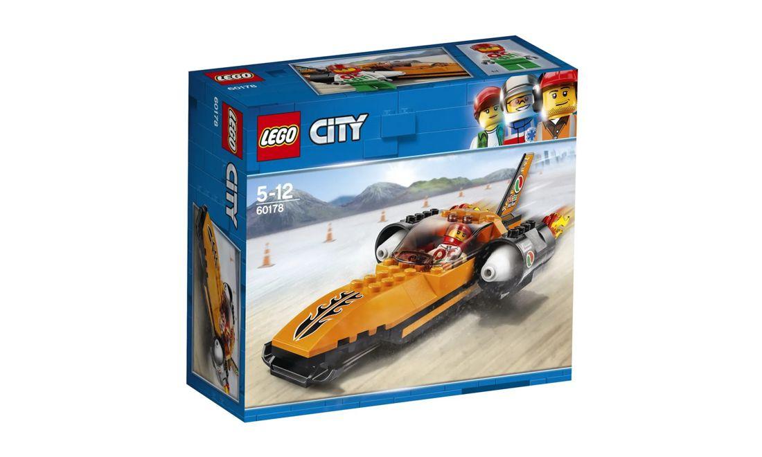 Lego City Batedor de Recordes de Velocidade 78 Peças 60178 Lego