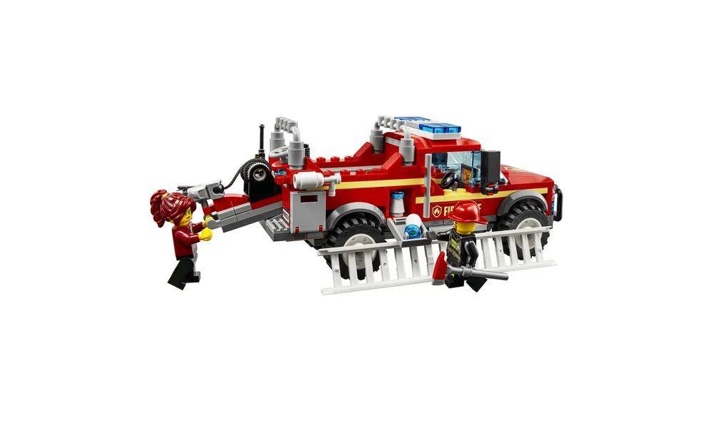 Lego City Caminhão do Chefe dos Bombeiros 201 Peças 60231 Lego