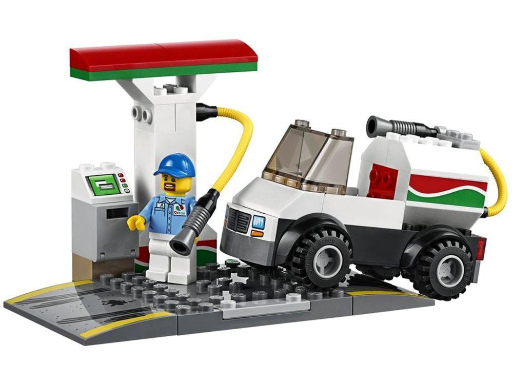 Lego City Centro de Assistência Automotiva 234 Peças 60232 Lego