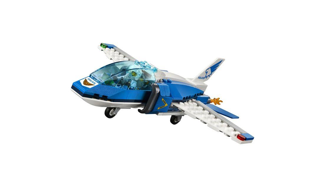 Lego City Detenção de Paraquedas 218 Peças 60208 Lego