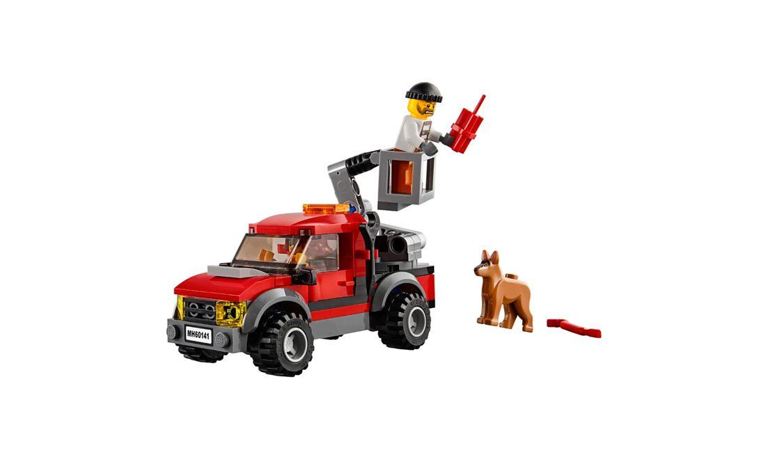 Lego City Esquadra de Polícia 894 Peças 60141 Lego