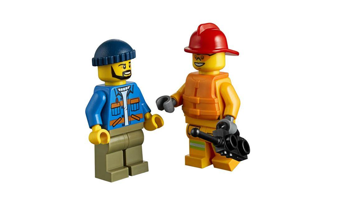 Lego City Incêndio na Doca 97 Peças 60213 Lego