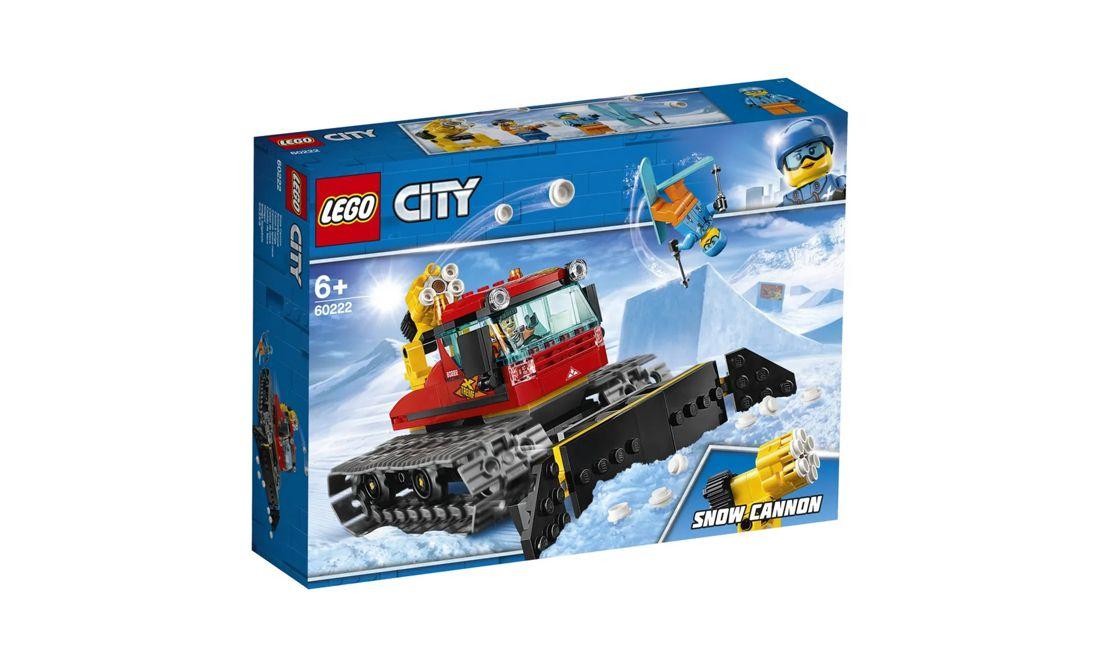 Lego City Limpa-Neve 197 Peças 60222 Lego