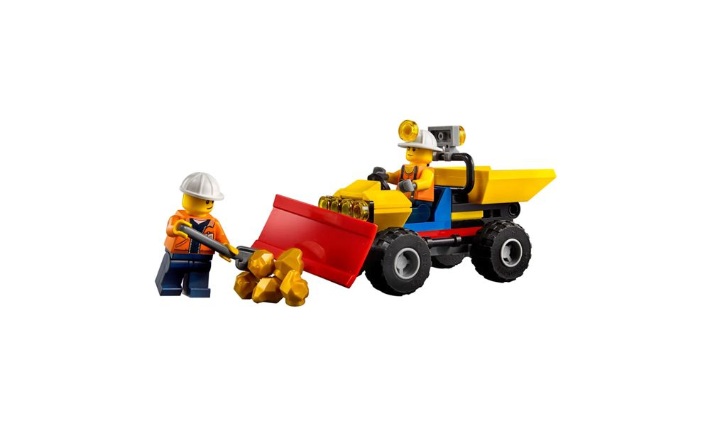 Lego City Perfuradora Pesada de Mineração 294 Peças 60186 Lego