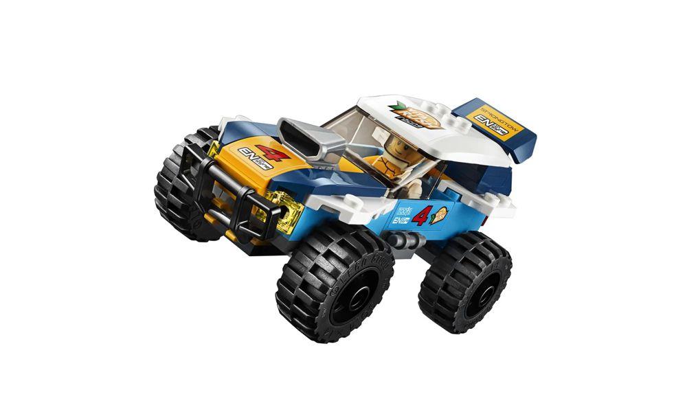 Lego City Rali no Deserto 75 Peças 60218 Lego